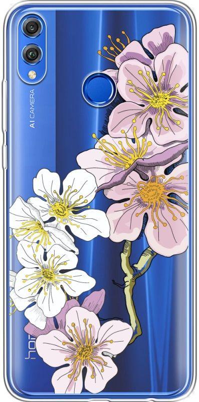 Купить Накладка U-Print Honor 8X Cherry Blossom, Other
