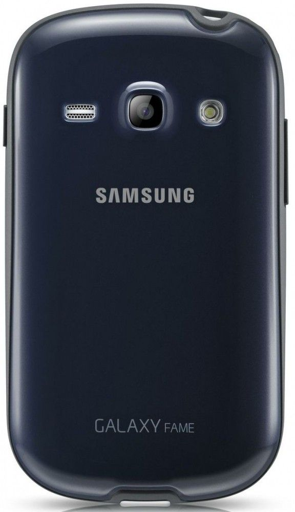 Накладка Samsung для Galaxy Fame S6810 Blue (EF-PS681BLEGWW) - 18500