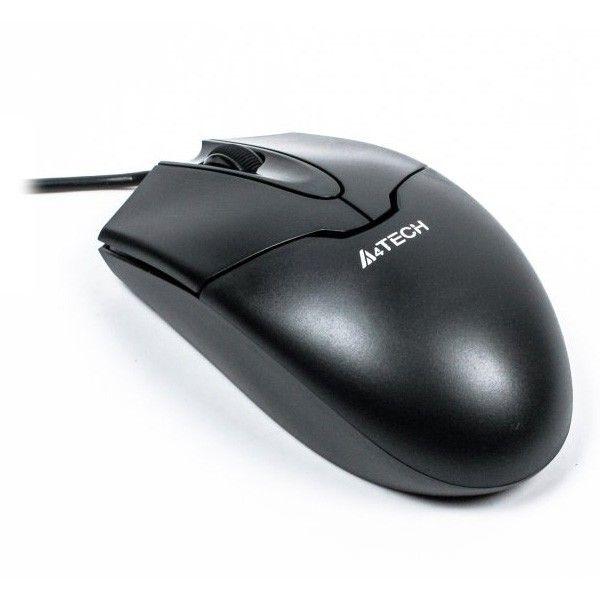 Купить Мыши, Мышь A4Tech N-302 USB Black (4711421902496)