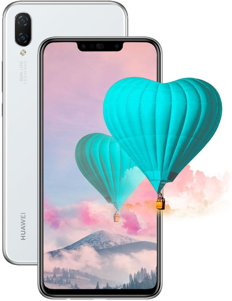 Купить Смартфон Huawei P Smart Plus 4/64GB (51093DYA) White