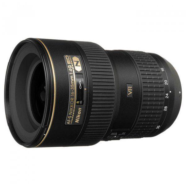 Купить Объектив Nikon AF-S Nikkor 16-35mm f/4G ED VR (JAA806DB)