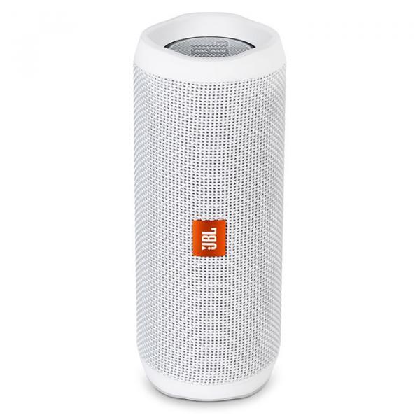 Купить Портативная акустика JBL Flip 4 White (JBLFLIP4WHT)