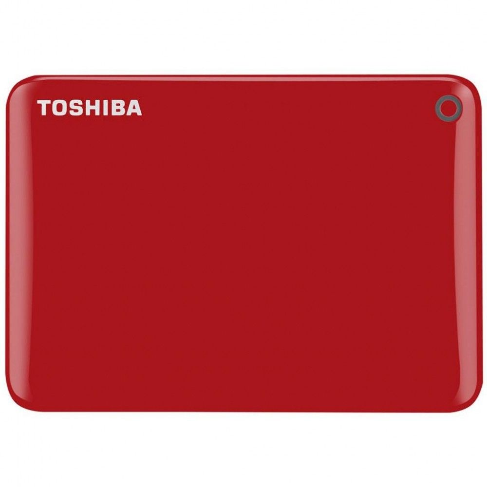 Купить Жесткий диск Toshiba Canvio Connect II 1TB HDTC810ER3AA 2.5 USB 3.0 External Red