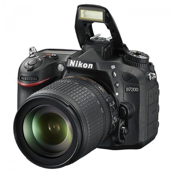 Купить Фотоаппарат Nikon D7200 18-105mm VR Kit (VBA450K001)