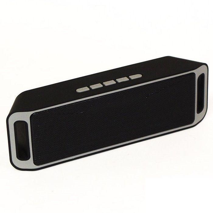 Купить Портативная акустика, Портативная Bluetooth акустика SС-3 II Black, Other