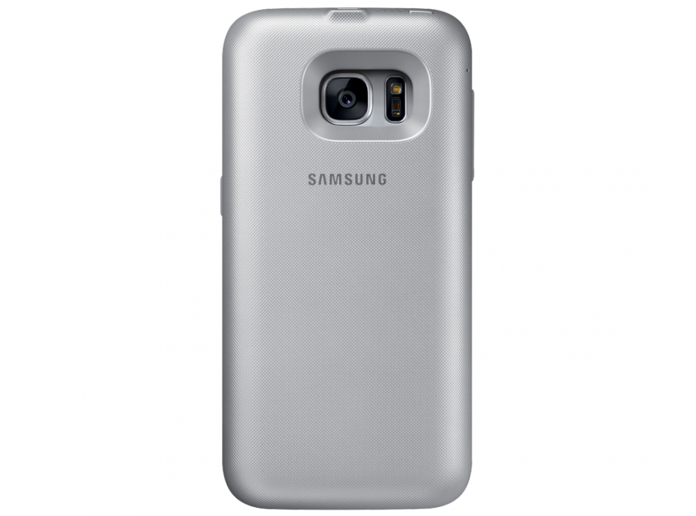 Чехол-аккумулятор Samsung Backpack Cover S7 Silver (EP-TG930BSRGRU) - 28350