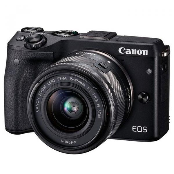 Купить Фотоаппарат Canon EOS M3 15-45 IS STM (9694B201)