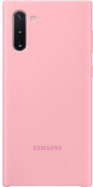 Накладка Samsung Silicone Cover для Samsung Galaxy Note 10 (EF-PN970TPEGRU) Pink от Територія твоєї техніки