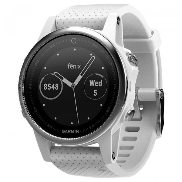 Купить Смарт часы Garmin Fenix 5S White with Carrara White Band (010-01685-00)