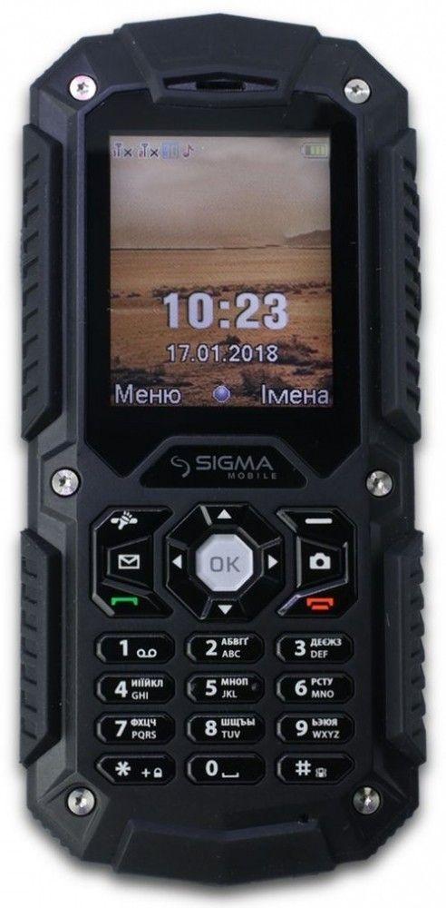 Купить Мобильный телефон Sigma mobile X-treme PQ67 Black