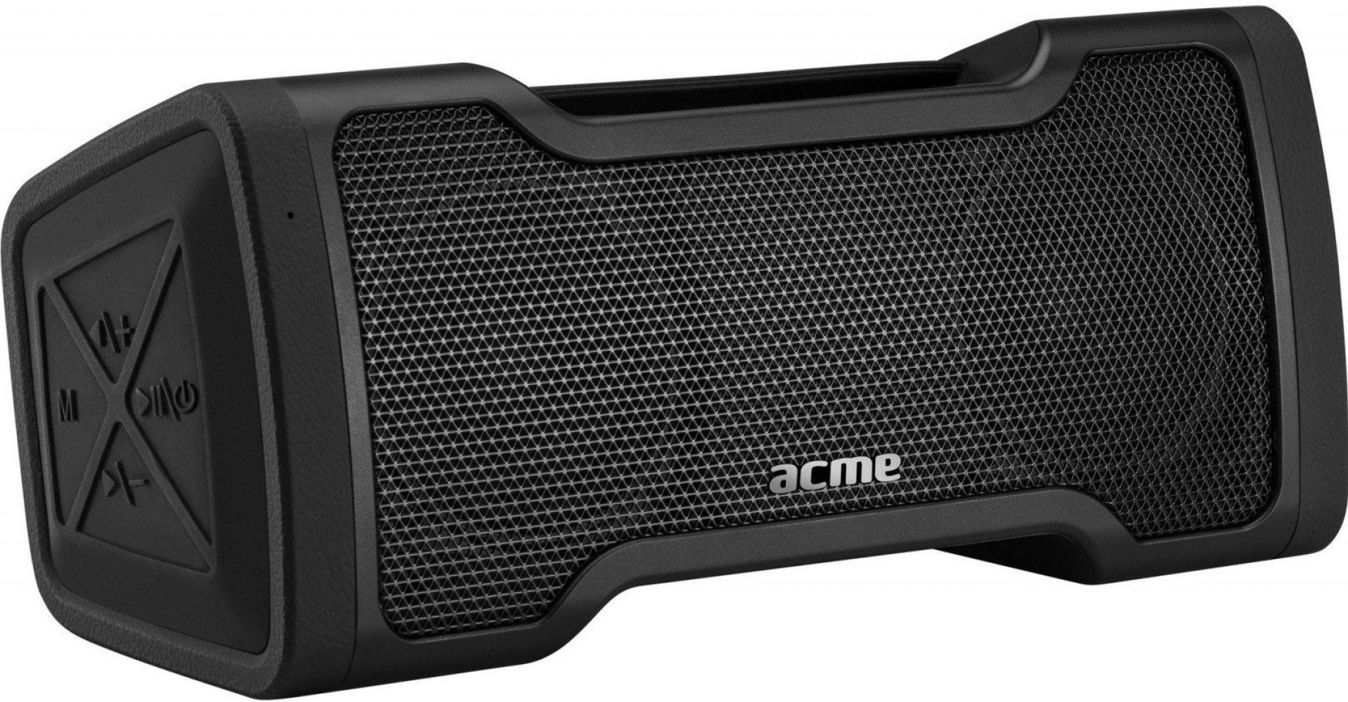Портативная акустика Acme PS408 Bluetooth Outdoor Speaker (4770070880005) Black  - купить со скидкой