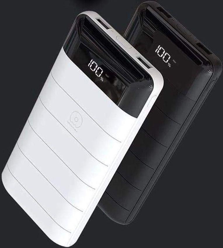 Купить Универсальные мобильные батареи, УМБ WUW Y49 20800mAh Li-pol 2USB 2.1A LCD Black