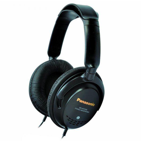 Купить Наушники и гарнитуры, Наушники Panasonic RP-HTF295E-K Black