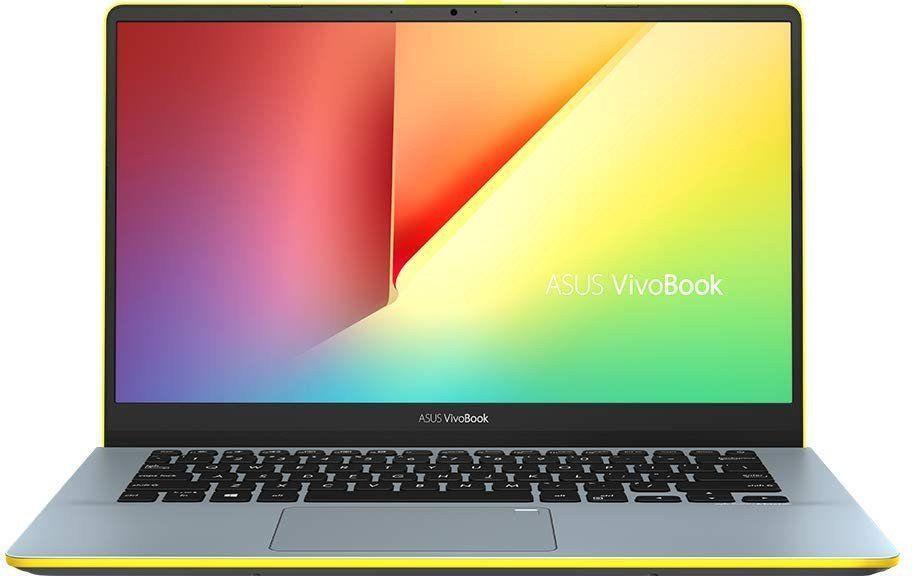Ноутбук ASUS VivoBook S14 S430UN-EB117T (90NB0J43-M01450) Silver Blue/Yellow  - купить со скидкой