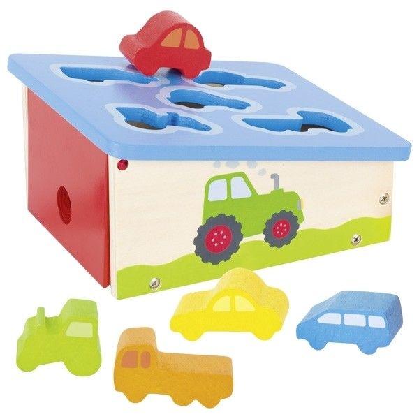 Купить Игрушки для малышей, Сортер goki Транспорт (58668)