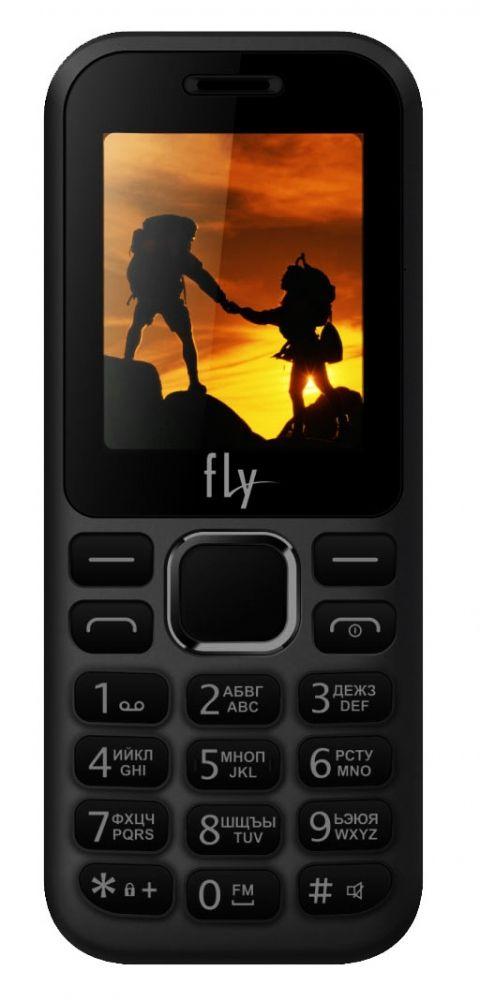Кнопочные телефоны, Мобильный телефон Fly FF183 Black  - купить со скидкой