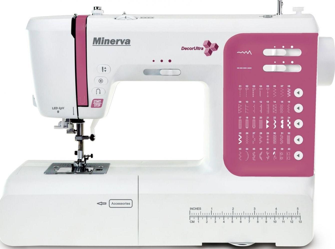 Купить Швейные машинки, Швейная машина Minerva DecorUltra