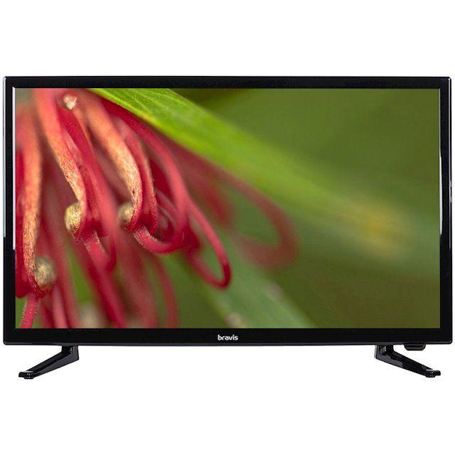 Купить Телевизор Bravis LED-24D1900 + T2 Black