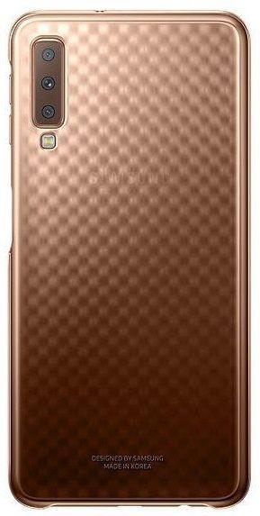 Купить Чехлы для мобильных телефонов, Чехол Samsung Gradation Cover для Samsung Galaxy A7 2018 A750F (EF-AA750CFEGRU) Gold