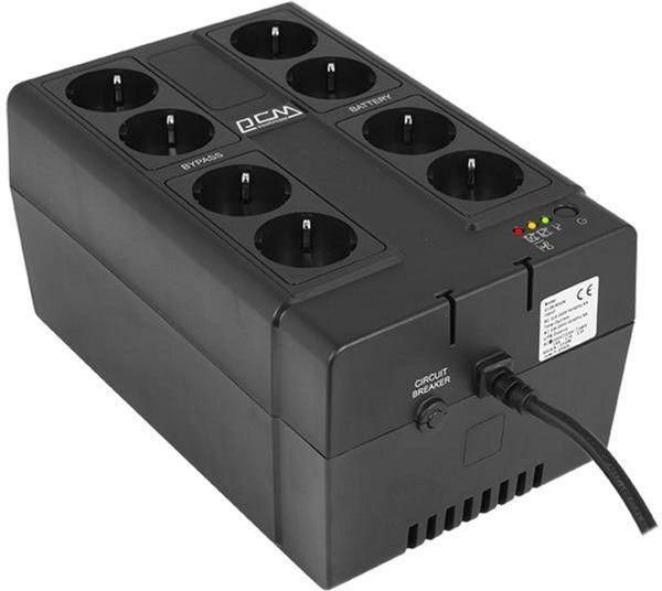 Источники бесперебойного питания, ИБП Powercom CUB-850N  - купить со скидкой
