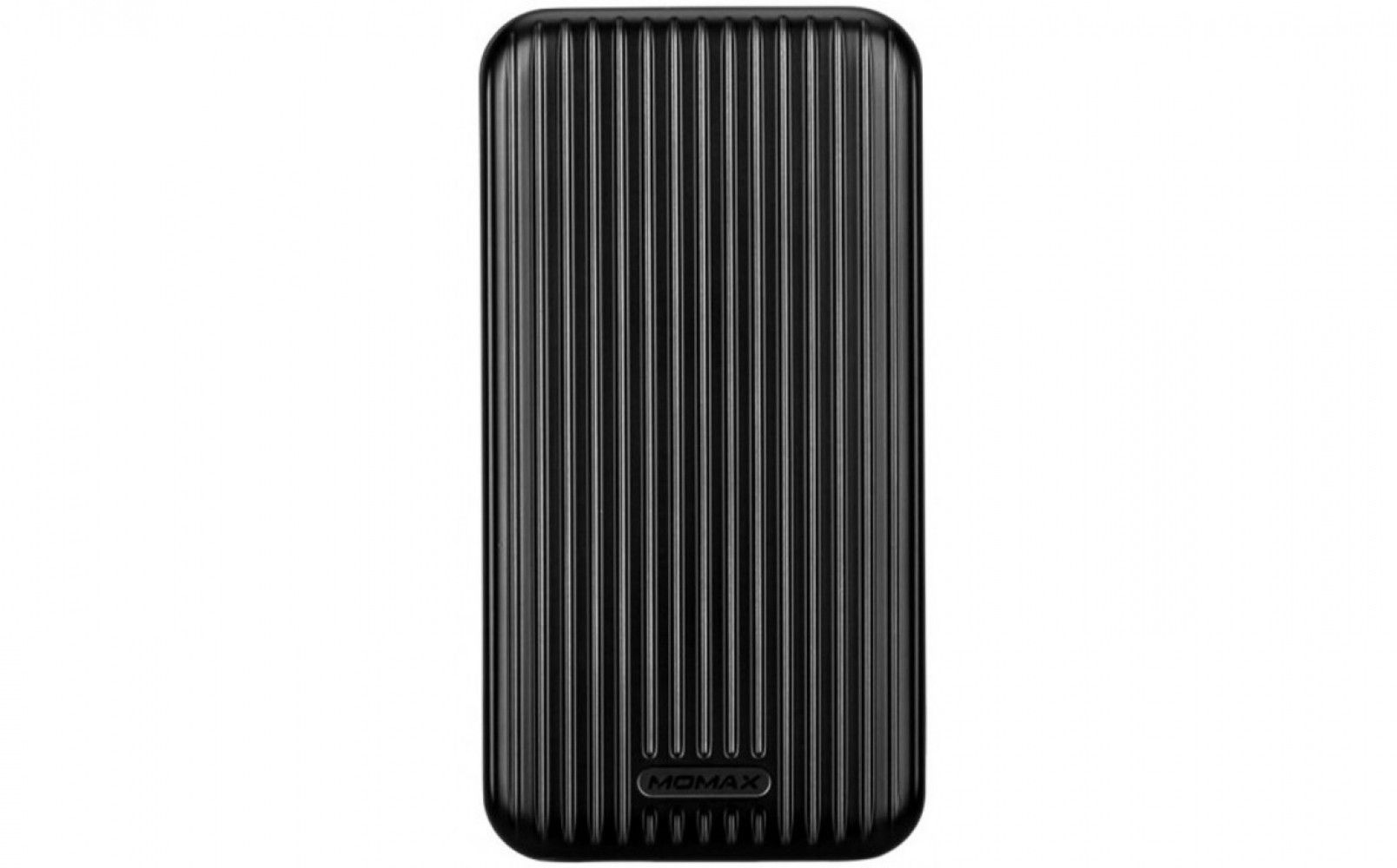 Купить Портативная батарея Momax iPower GO Slim Battery 10000 mAh Black (IP56D)
