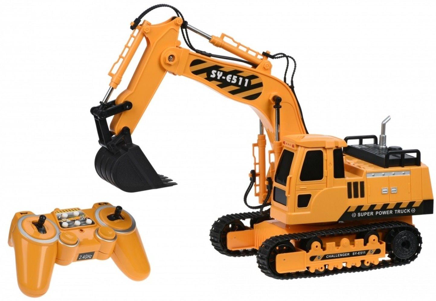 Купить Игрушечные машинки и техника, Машинка на р/у Same Toy Экскаватор (E511-003)