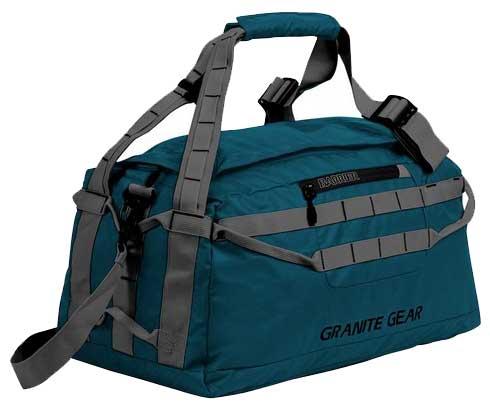 Купить Дорожные сумки и чемоданы, Сумка дорожная Granite Gear Packable Duffel 40 (926090) Basalt/Flint
