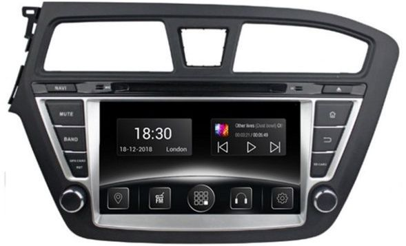 Автомагнитола штатная Gazer CM6008-GB для Hyundai i20 (GB) 2014-2017