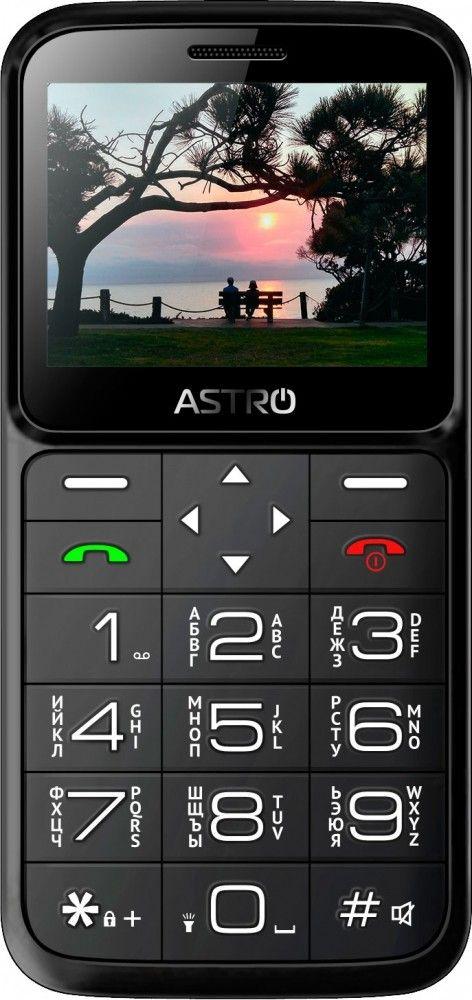 Купить Мобильный телефон Astro A186 Black