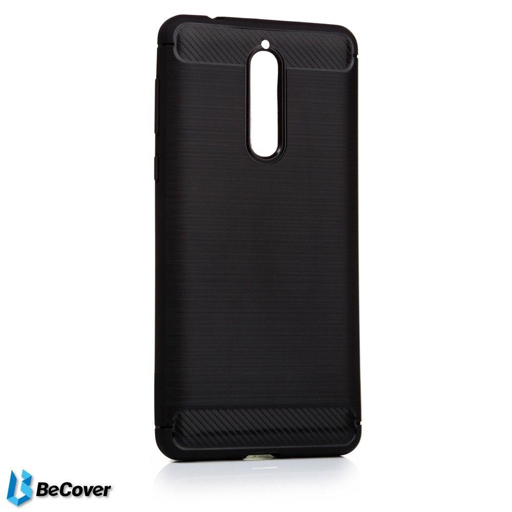 Купить Чехлы для мобильных телефонов, Панель BeCover Carbon Series для Nokia 8 Black (BC_701809)