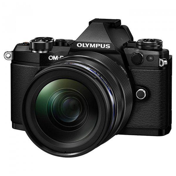 Купить Фотоаппарат Olympus E-M5 Mark II 12-40 PRO Kit Black-Black (V207041BE000)
