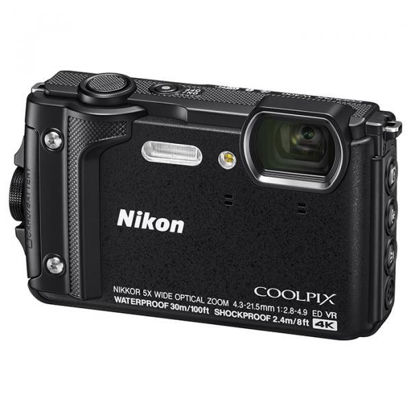 Купить Фотоаппарат Nikon Coolpix W300 Black (VQA070E1)