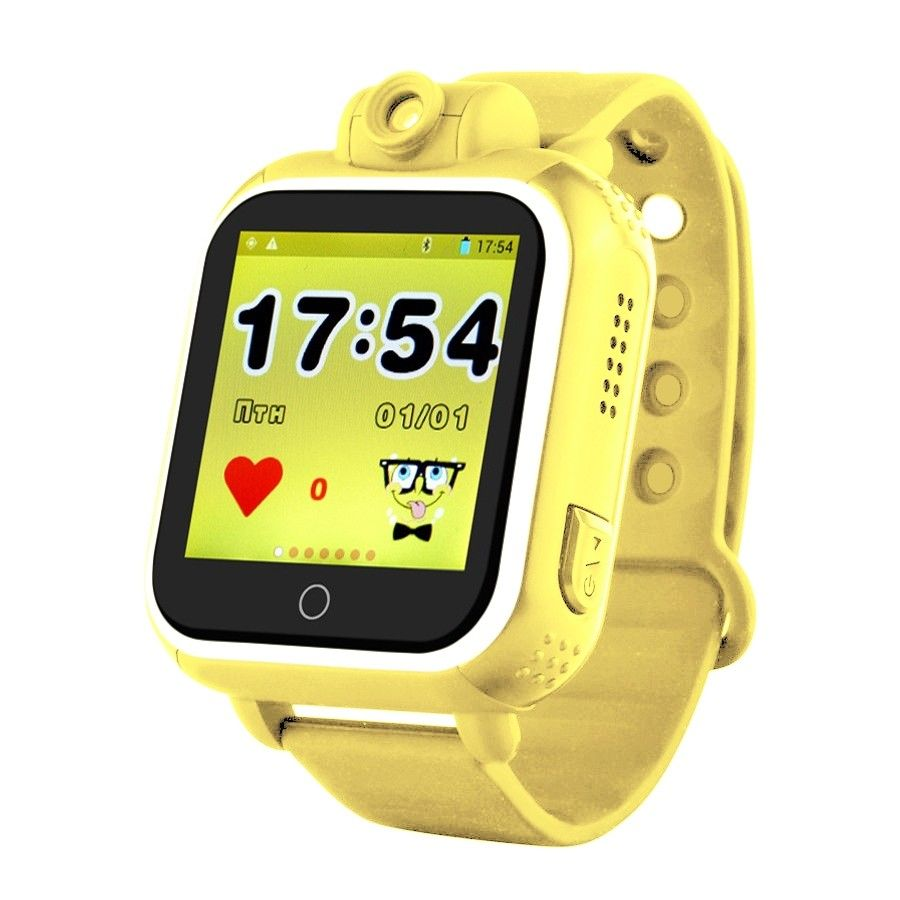Купить Детские умные часы с GPS-трекером TD-07 (Q20) Yellow, Smart Baby Watch
