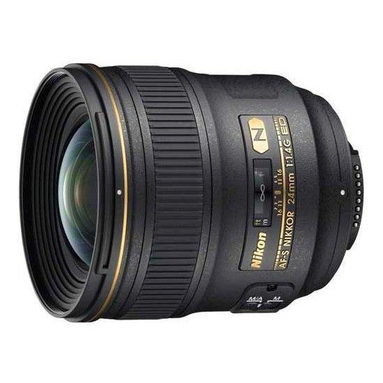 Купить Объектив Nikon AF-S Nikkor 24mm f/1.4G ED (JAA131DA)