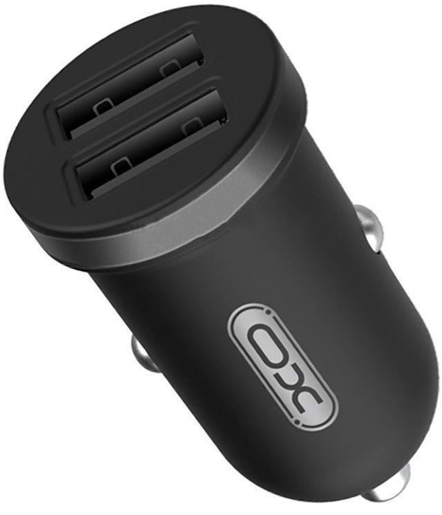 Купить Зарядные устройства, Автомобильное зарядное устройство XO CC18 2USB 2.1A Black