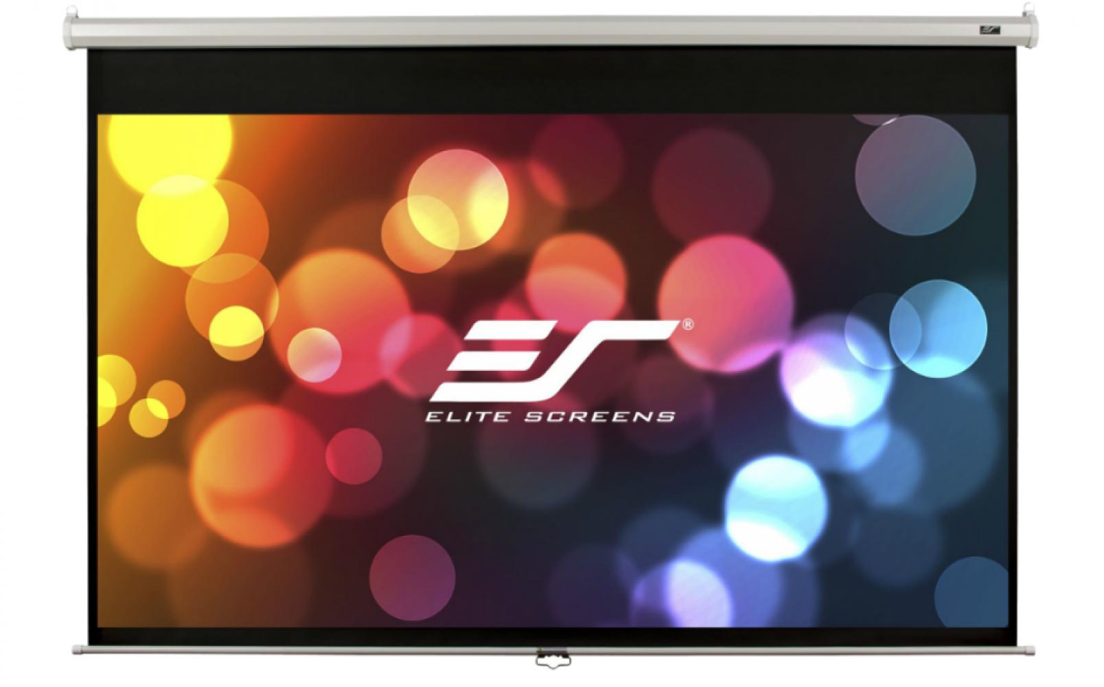 Проекционный настенный экран Elite Screens (M150XWH2) White case  - купить со скидкой