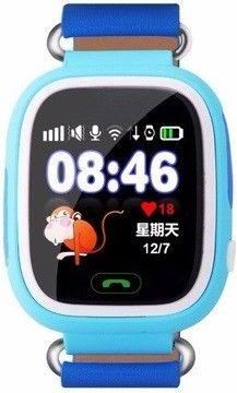 Детские умные часы с GPS-трекером TD-02 (Q100) Blue, Smart Baby Watch  - купить со скидкой