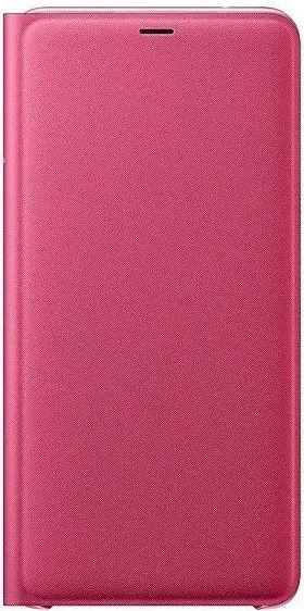 Купить Чехлы для мобильных телефонов, Чехол-книжка Samsung Wallet Cover для Samsung Galaxy A9 2018 (EF-WA920PPEGRU) Pink