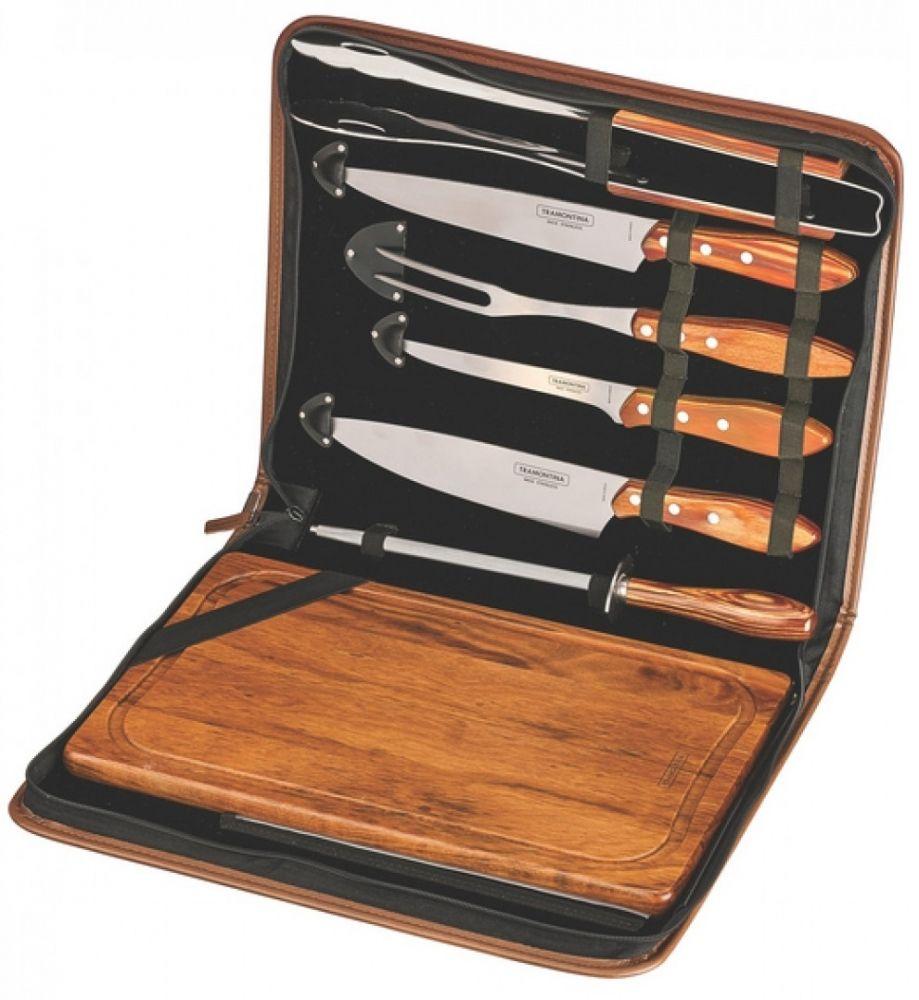 Купить Аксессуары для мангалов, барбекю, грилей, Кухонный набор Tramontina Barbescue из 8 предметов (21198/465)