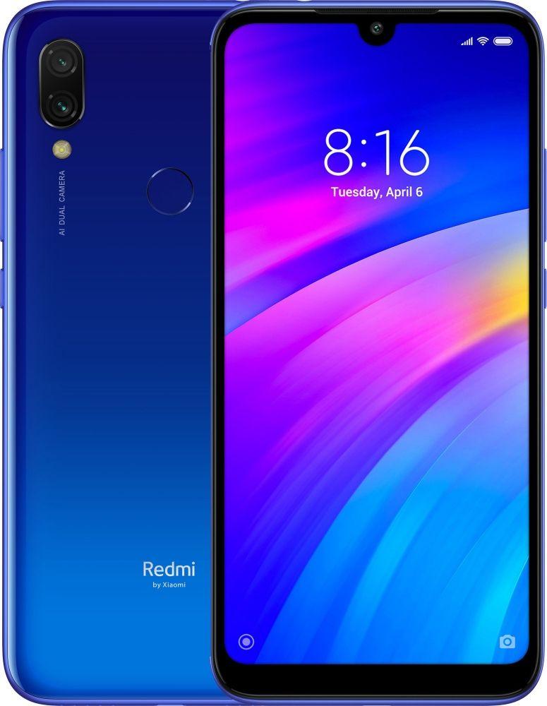 Купить Смартфон Xiaomi Redmi 7 3/64GB Comet Blue