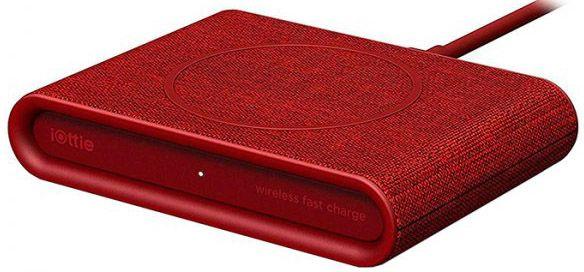 Купить Зарядные устройства, Беспроводное зарядное устройство iOttie iON Wireless Fast Charging Pad Plus (CHWRIO105RD) Red