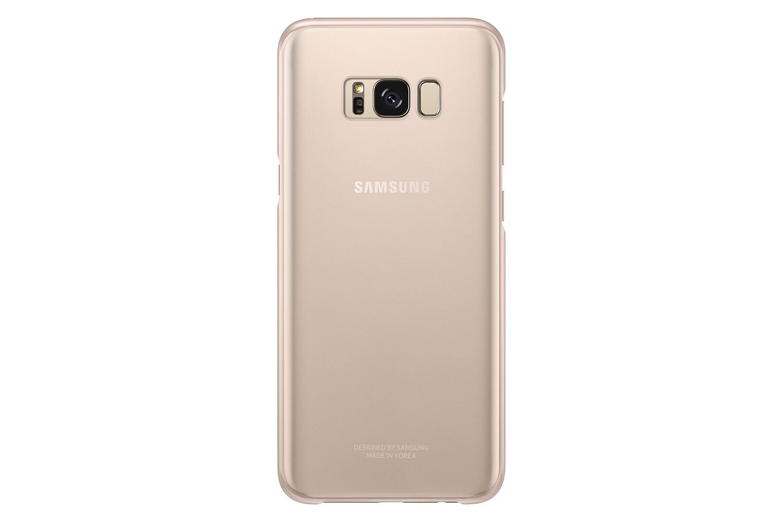 Купить Чехол Samsung Clear Cover S8 Pink (EF-QG950CPEGRU)