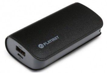 Купить Внешний аккумулятор Platinet Leather 5200mAh Black