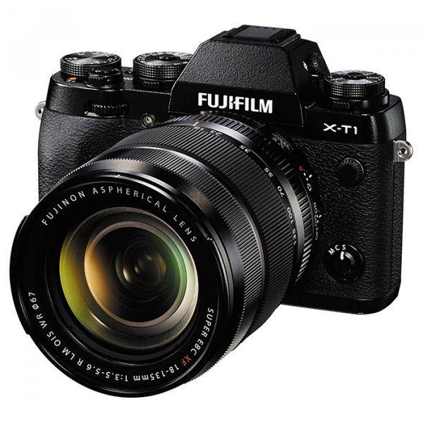 Купить Фотоаппарат Fujifilm X-T1 + XF 18-135mm F3.5-5.6R Kit Black (16432815)