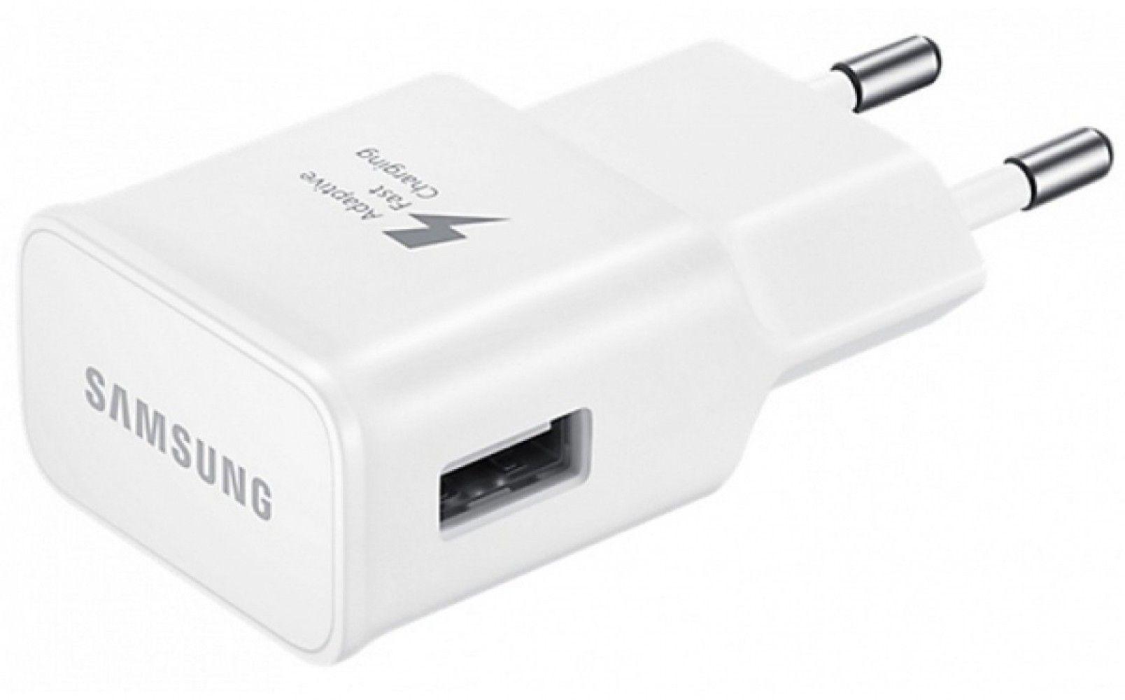 Сетевое зарядное устройство Samsung EP-TA20EWECGRU White от Територія твоєї техніки