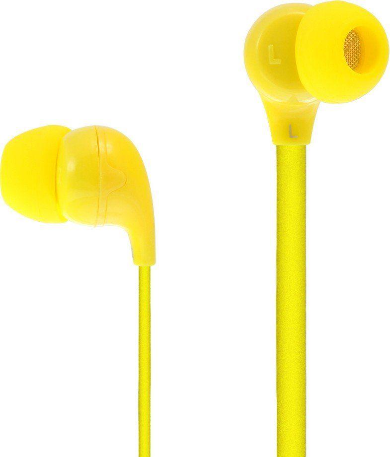 Купить Наушники Moki 45 Comfort Buds Yellow (HP45Y)