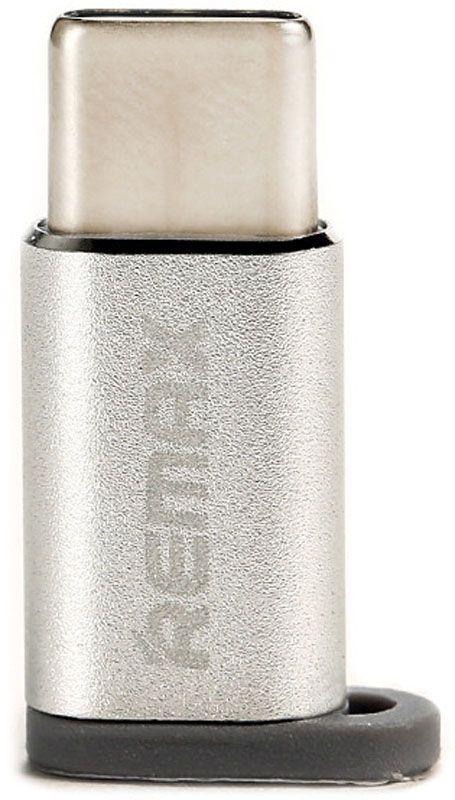 Купить Кабели синхронизации, Адаптер Remax RA-USB1 micro-type-c Silver