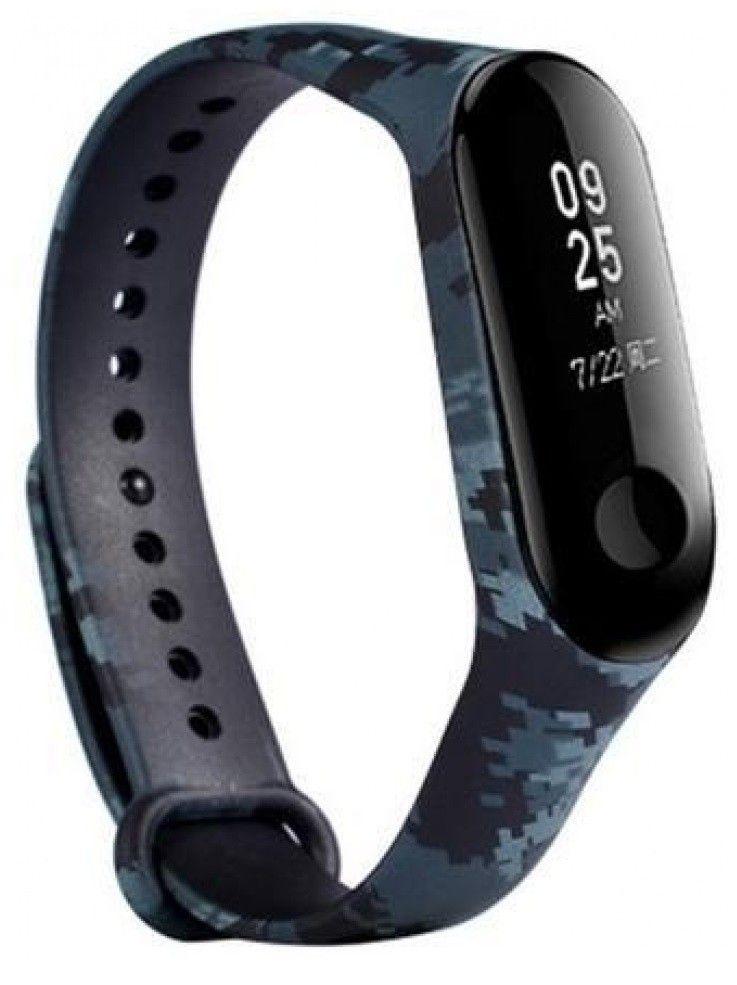Купить Аксессуары для смарт-часов и смарт-браслетов, Ремешок для Xiaomi Mi Band 3 Khaki grey, Other