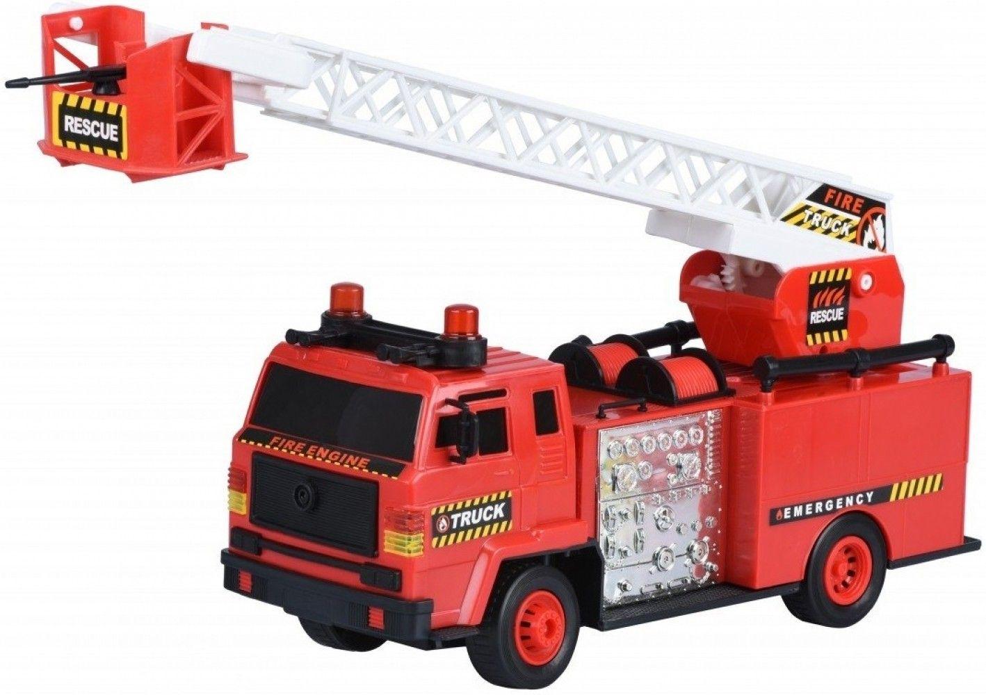 Купить Игрушечные машинки и техника, Машинка Same Toy Fire Engine Пожарная техника (R827-2Ut)