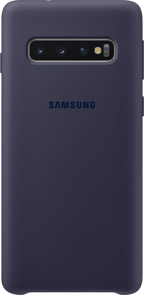 Панель Samsung Silicone Cover для Samsung Galaxy S10 (EF-PG973TNEGRU) Navy от Територія твоєї техніки